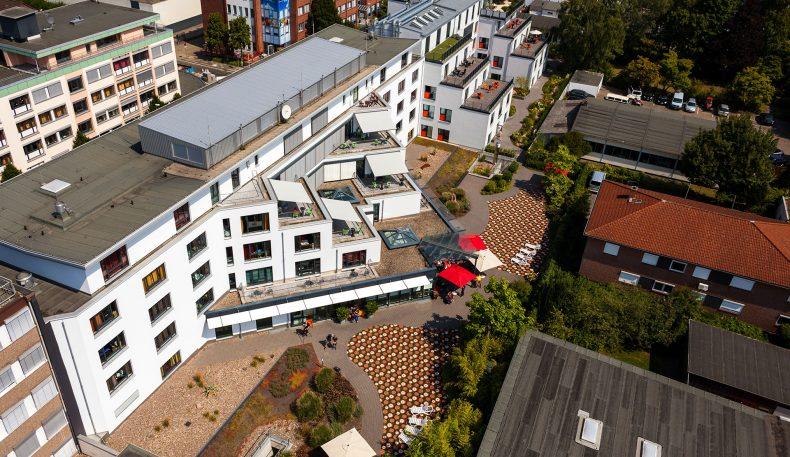 Fachpflegeheim Hannover von oben